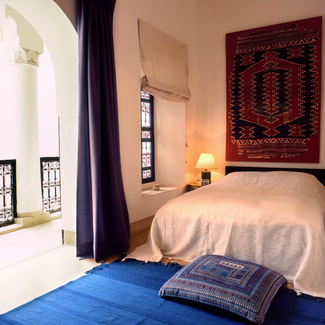 Kilim Room with private balcony