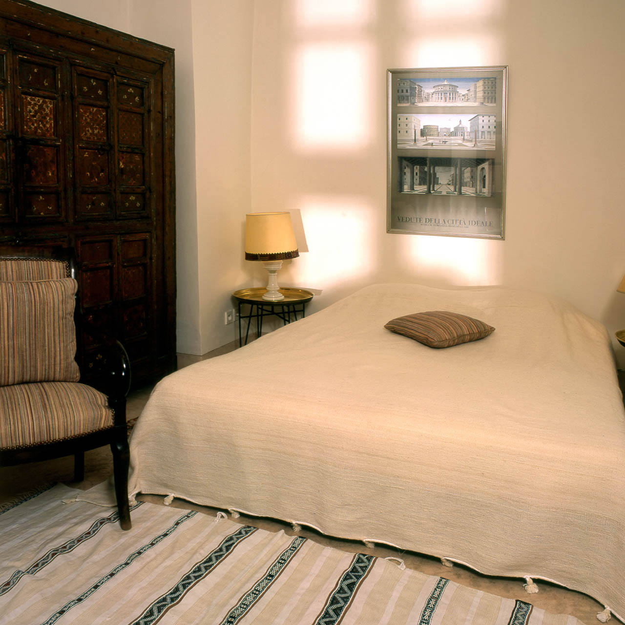 The Ottoman bedroom
