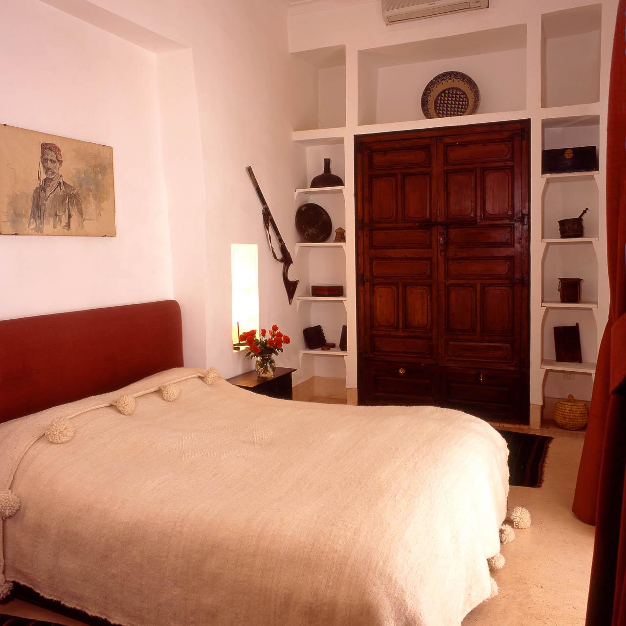 Palmen Suite - Schlafzimmer