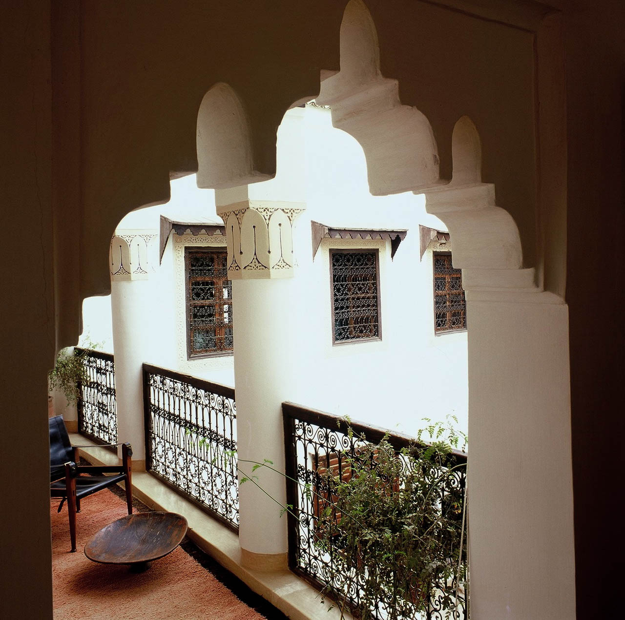   The private balcony