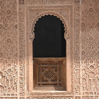 Medersa Ben Youssef - Window