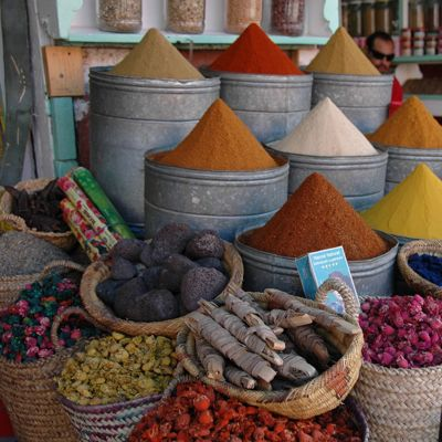 Cooking class - shopping on the spice market