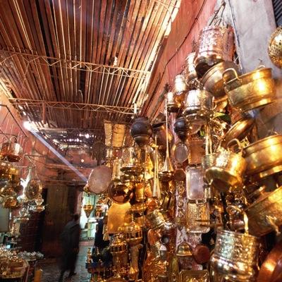 Brass souk Marrakech