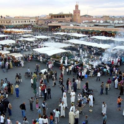 Jema'a El Fna - Foodstalls