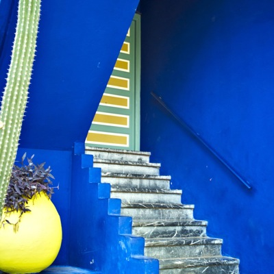 Majorelle Gardens - Stairs