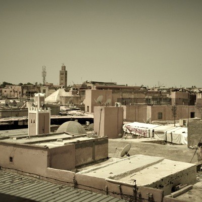Roof tops of Marrakech