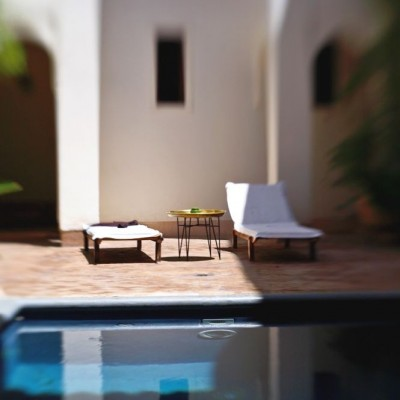Riyad El Cadi - Pool with sun loungers